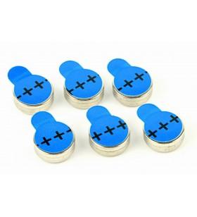 """BATERIE GEMBIRD, butoni (ZA675), 1.4V zinc, 6 buc., """"EG-BA-ZA675-01"""""""