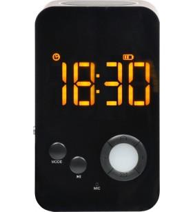 "CEAS - BOXA portabil bluetooth, afisare LED pt. ceas, FM Radio, lampa, Alarm Clock, slot microSD, ""SP-DY-38"""