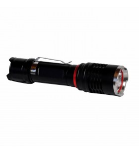 LANTERNA LED SPACER, (CREE XM-L T6), 800 lm, mufa microUSB pt incarcare, High-middle-low-strobe-SOS, battery:1 x 18650 or 3 x AA