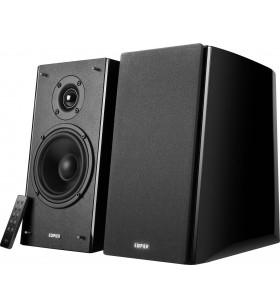 "BOXE EDIFIER 2.0, RMS: 120W (2 x 24W, 2 x 36W), bluetooth telecomanda wireless, volum, bass, treble, black, ""R2000DB""(include"