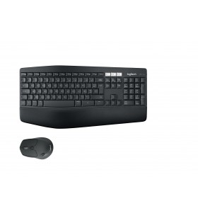 Logitech MK850 tastaturi RF fără fir AZERTY Franţuzesc Negru