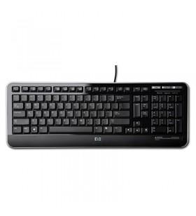 HP QY776AA tastaturi USB Negru