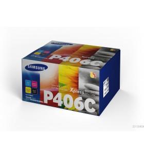 Samsung CLT-P406C Original Negru, Cyan, Magenta, Galben 4 buc.