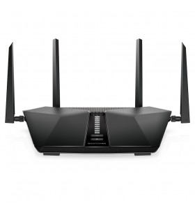 Netgear Nighthawk AX5400 router wireless Bandă dublă (2.4 GHz  5 GHz) Gigabit Ethernet Negru