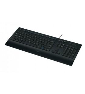 Logitech K280e tastaturi USB QWERTY Italiană Negru