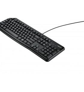 Logitech K120 tastaturi USB QWERTY Marea Nordică Internațional Negru