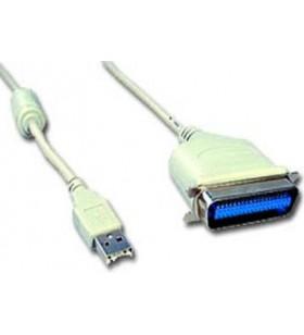 "CABLU USB2.0 la PARALEL GEMBIRD, cablu 1.8m, ""CUM360"""