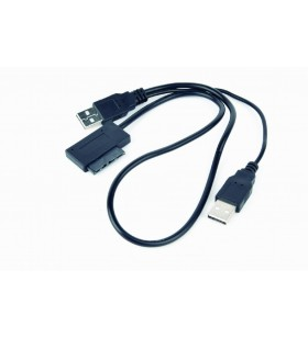 External USB to SATA adapter for Slim SATA SSD, DVD, Gembird A-USATA-01