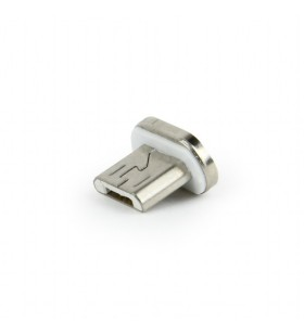 """Magnetic USB cable connector tip, Micro-USB male """"CC-USB2-AMLM-mUM"""""""