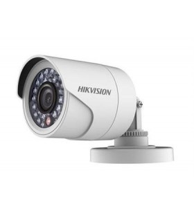Camera de supraveghere Hikvision Turbo HD Bullet, DS-2CE16D0T-IRPF (2.8mm) HD1080p, 2MP CMOS Sensor, 24 pcs LEDs, 20m IR, Outdoo