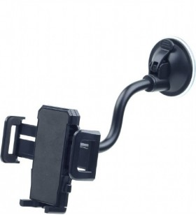 "SUPORT AUTO GEMBIRD pt. SmartPhone, Car Holder, pana la 6"", flexibil, retail box, black, ""TA-CHW-02"""