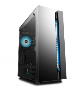 CARCASA DeepCool Middle-Tower E-ATX, cooler pe lichid Captain 280 pre-instalat cu 2 140mm RGB LED fan, 2 140mm RGB LED fan (incl