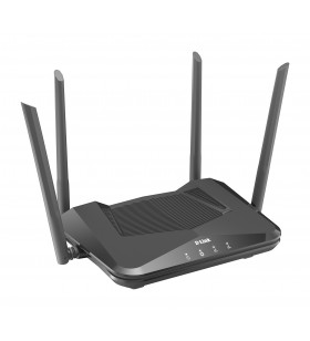 D-Link DIR-X1560 router wireless Bandă dublă (2.4 GHz  5 GHz) Gigabit Ethernet Negru