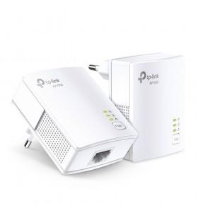 TP-LINK TL-PA7017 KIT adaptoare de rețea pentru linii de alimentare cu electricitate 1000 Mbit s Ethernet LAN Alb 2 buc.