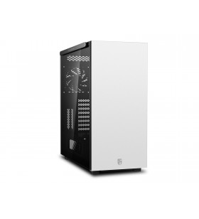 CARCASA DeepCool. Full-Tower E-ATX, 1 120mm fan (inclus), tempered glass, otel galvanizat 0.8mm, front audio &amp 2x USB 3.0, wh