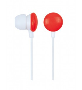 "In-earphones, candy red ""MHP-EP-001-R"""