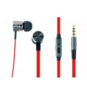 "Metal earphones with microphone, ""London"" ""MHS-EP-LHR"""