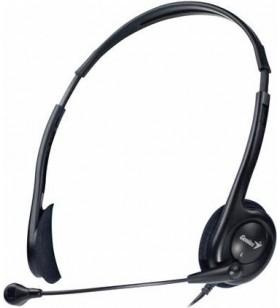 """CASTI GENIUS cu microfon  """"HS-200C"""", usoare, ajustabile, black """"31710151100"""" (include timbru verde 0.1 lei)"""