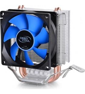 """COOLER DeepCool CPU universal, soc LGA115x/775 &amp FMx/AM4/AM3x/AM2x/940/939/754, 2x heatpipe, 100W """"ICEEDGE MINI FS V2.0"""""""