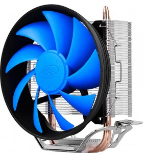 """COOLER DeepCool CPU universal, soc LGA115x/775 &amp FMx/AM4/AM3x/AM2x/9xx/754 , Al+Cu, 2x heatpipe, 100W """"GAMMAXX 200T"""""""