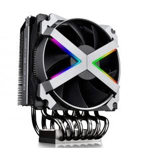 "COOLER DeepCool CPU universal, soc. TR4/AM4/AMx/AM2x/FMx, Al+Cu, 6x heatpipe, 1x fan 120x25mm, 250W ""FRYZEN"""