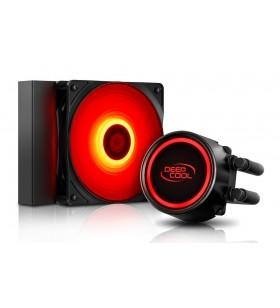 COOLER DeepCool CPU universal. cu LICHID, soc LGA2011(3)/1366/115x &amp FMx/AM4/AM3x/AM2x, AL+Cu+lichid, 1x 120 red LED fan, 150