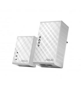 ASUS PL-N12 Kit 500 Mbit s Ethernet LAN Wi-Fi Alb 2 buc.