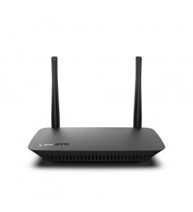Linksys E2500V4 router wireless Bandă dublă (2.4 GHz  5 GHz) Fast Ethernet Negru