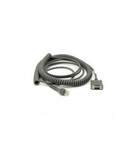 CABLE RS232 6IN COILED/ROHS...