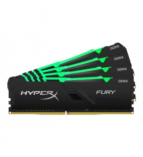 HyperX FURY HX434C17FB3AK4 128 module de memorie 128 Giga Bites 4 x 32 Giga Bites DDR4 3466 MHz