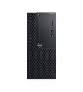 DELL OptiPlex 3070 Intel® Core™ i3 generația a 9a i3-9100 4 Giga Bites DDR4-SDRAM 1000 Giga Bites HDD Mini Tower Negru PC-ul