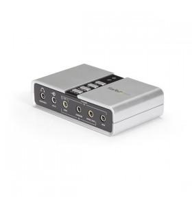 StarTech.com ICUSBAUDIO7D plăci de sunet 7.1 canale USB
