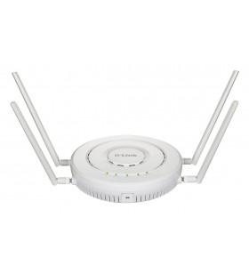 D-Link DWL-8620APE puncte de acces WLAN 2533 Mbit s Power over Ethernet (PoE) Suport Alb