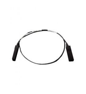 DELL 470-ABBM cabluri din fibră optică 1 m SFP+ Negru