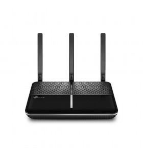TP-LINK Archer AC1600 router wireless Bandă dublă (2.4 GHz  5 GHz) Gigabit Ethernet 3G 4G Negru, Argint