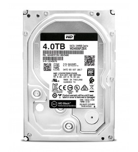 """HDD WD 4TB 7200rpm 256MB S-ATA3, pt. PC, BLACK """"WD4005FZBX"""""""