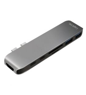 LOGILINK- USB-C 7-in-1...