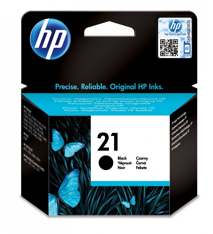 HP 21 Original Negru