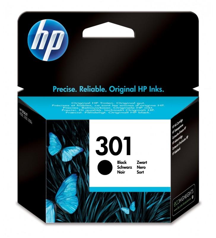 HP 301 Original Negru foto 1 buc.