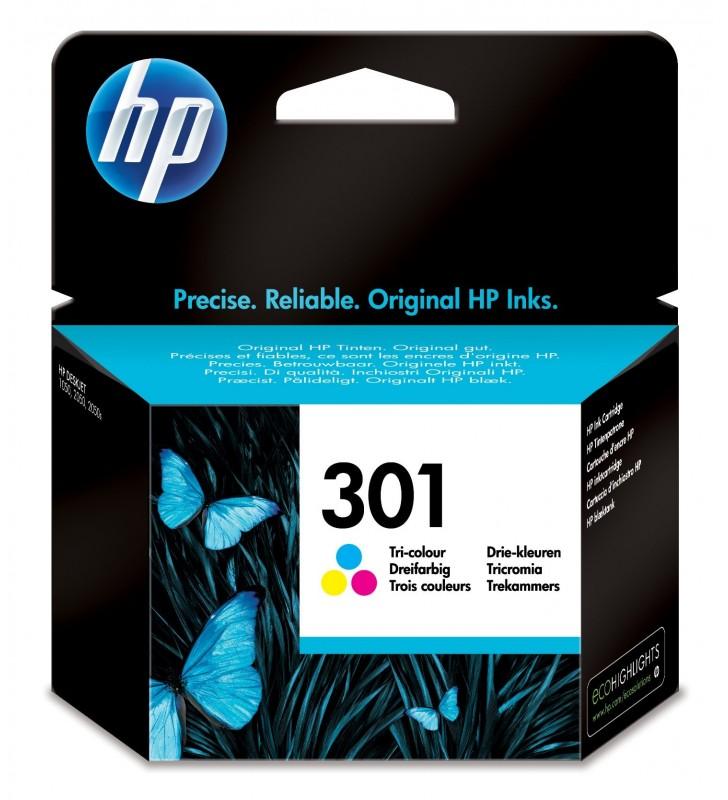 HP 301 Original Cyan, Magenta, Galben 1 buc.