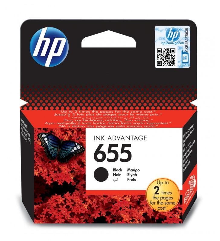 HP 655 Original Negru foto 1 buc.