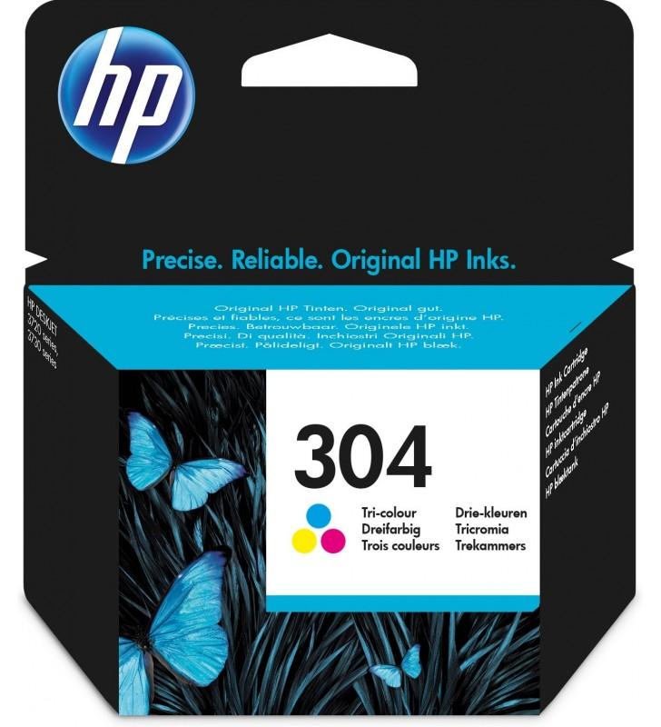 HP 304 Original Cyan, Magenta, Galben