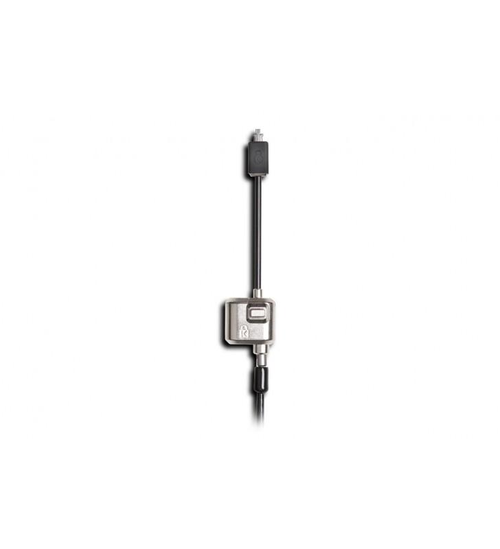 Kensington MiniSaver cabluri cu sistem de blocare Negru 1,8 m