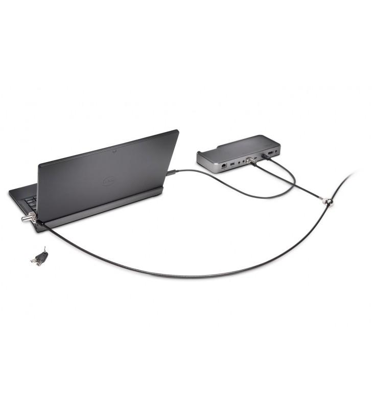Kensington K67995WW cabluri cu sistem de blocare Negru, Argint 1,83 m