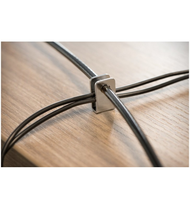 Kensington K64424WW cabluri cu sistem de blocare Negru, Argint 2,44 m