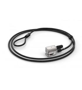 Kensington K62055WW cabluri cu sistem de blocare Negru, Argint