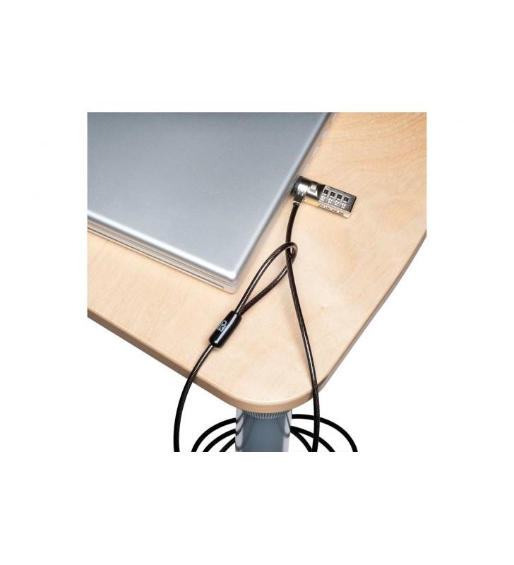 Kensington K64675EU cabluri cu sistem de blocare Negru 1,8 m