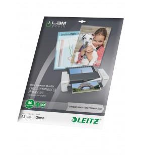 Leitz iLAM UDT folii de laminat tip plic 25 buc.