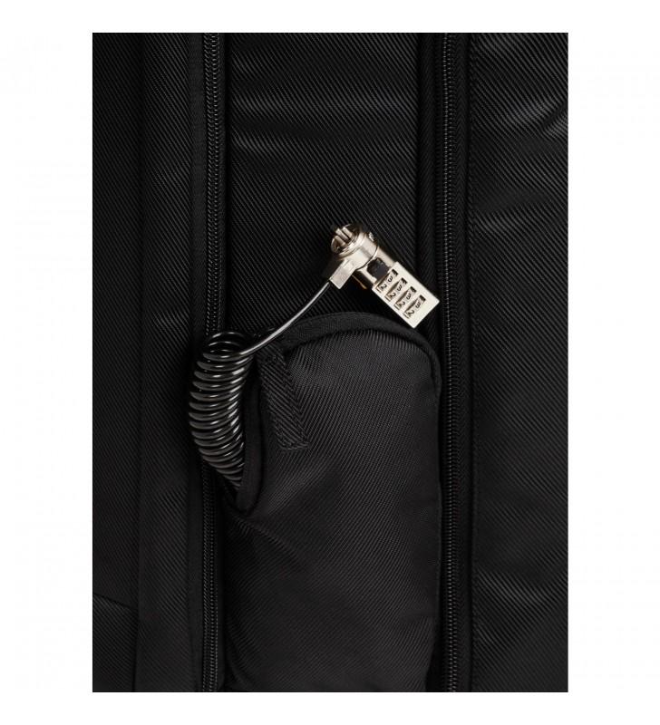 """Kensington SecureTrek genți pentru notebook-uri 43,2 cm (17"""") Husă tip rucsac Negru"""