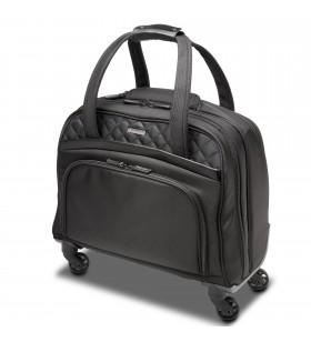 Kensington K60380WW geamantane și rucsacuri Valiză cu 4 roți Negru Poliester